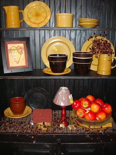 Kitchen Americana Decor