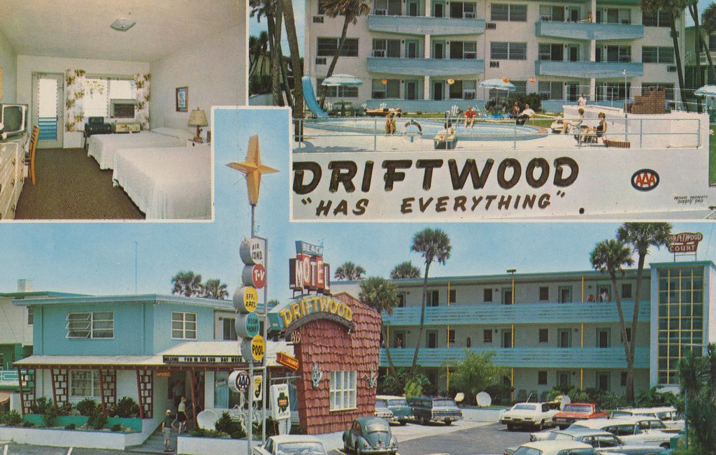 Driftwood Beach Motel - Ormond Beach, Florida