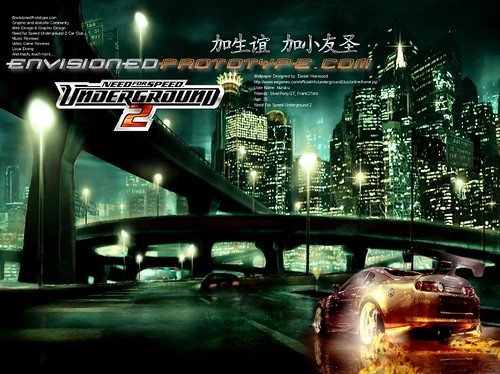 Envisioned prototype need for speed underground 2 fan wall - Need for speed underground 1 wallpaper ...