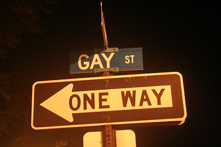 Being Gay is a one way street | by killroyo5