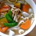 Hōtō (flat udon noodles and vegetables in miso soup)