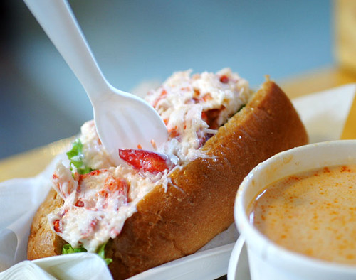 Lobster Roll | An awesome lobster roll and lobster bisque ...