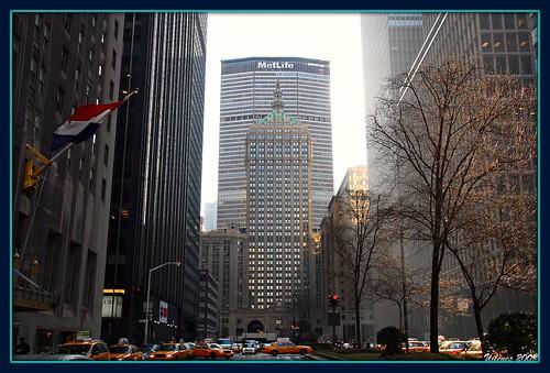 Metlife Building  Park Avenue New York