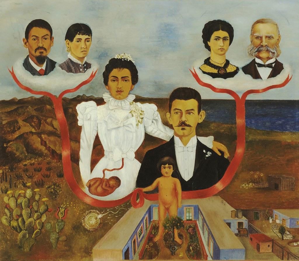 Frida Kahlo, My Grandparents, My Parents, And I