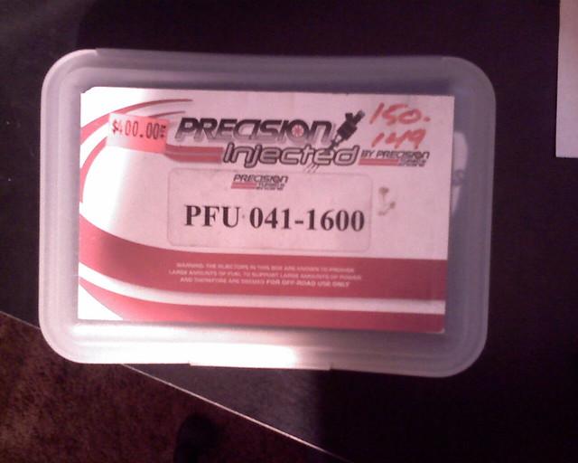 IMAGE_123 | Precision 1600CC Injectors PFU 041-1600
