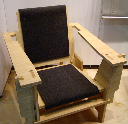 DESFURNITURE Flatpak Fold up Lounge Chair photo by Jill Fe…