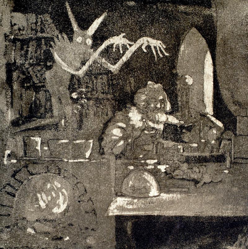 Josef Váchal - Alchemist, 1910