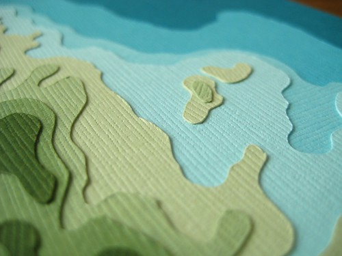Custom topography of St. Thomas (detail) | by Crafterall