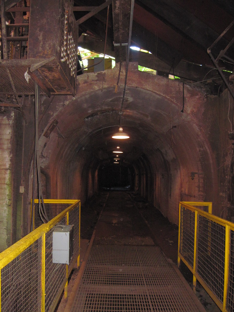Sloss Furnaces 27 Underground Tunnel Birmingham Alabama