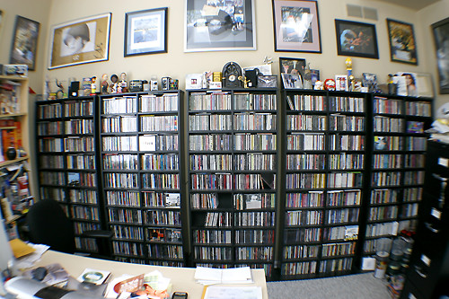 Cd Wall In My Home Office Q What S 6 Foot Tall 16 Feet