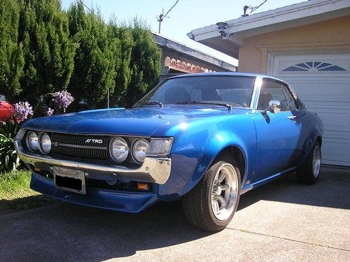 1973 Toyota Celica   my newly painted 1973 toyota celica ...