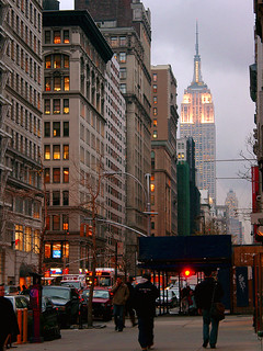 Fifth Avenue and the Empire State Building | by Jim Lambert