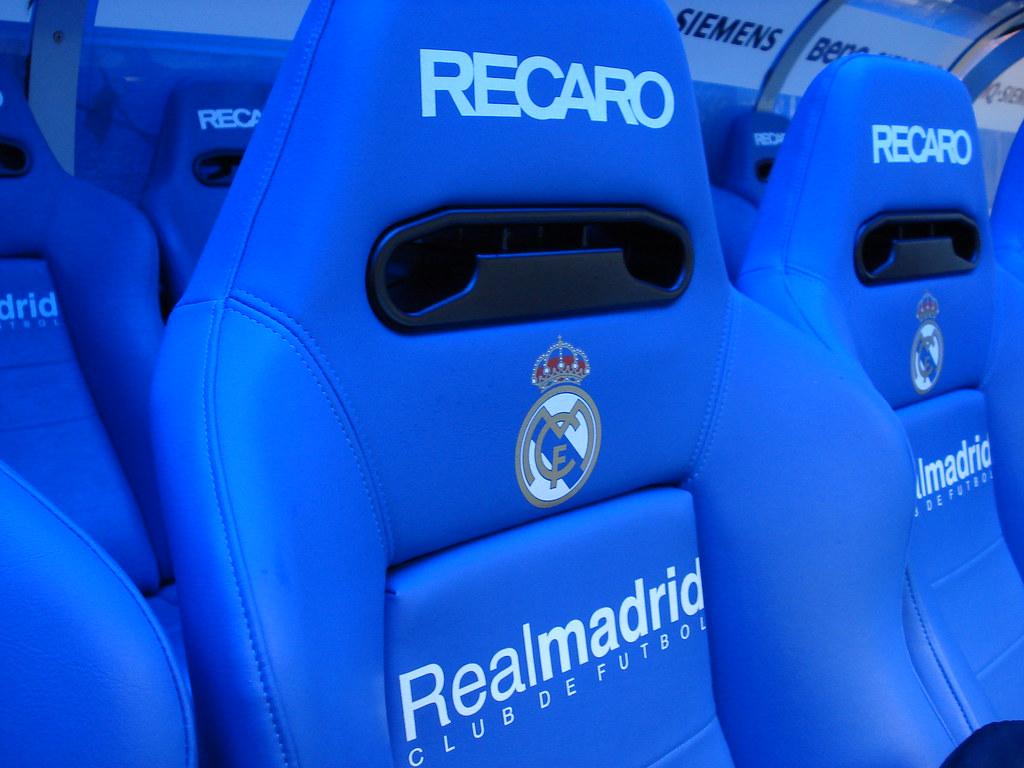 Real Madrid Santiago Bernab 233 U Stadium Dugout Chairs Flickr