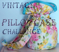 vintage pillowcase challenge | by calamity kim