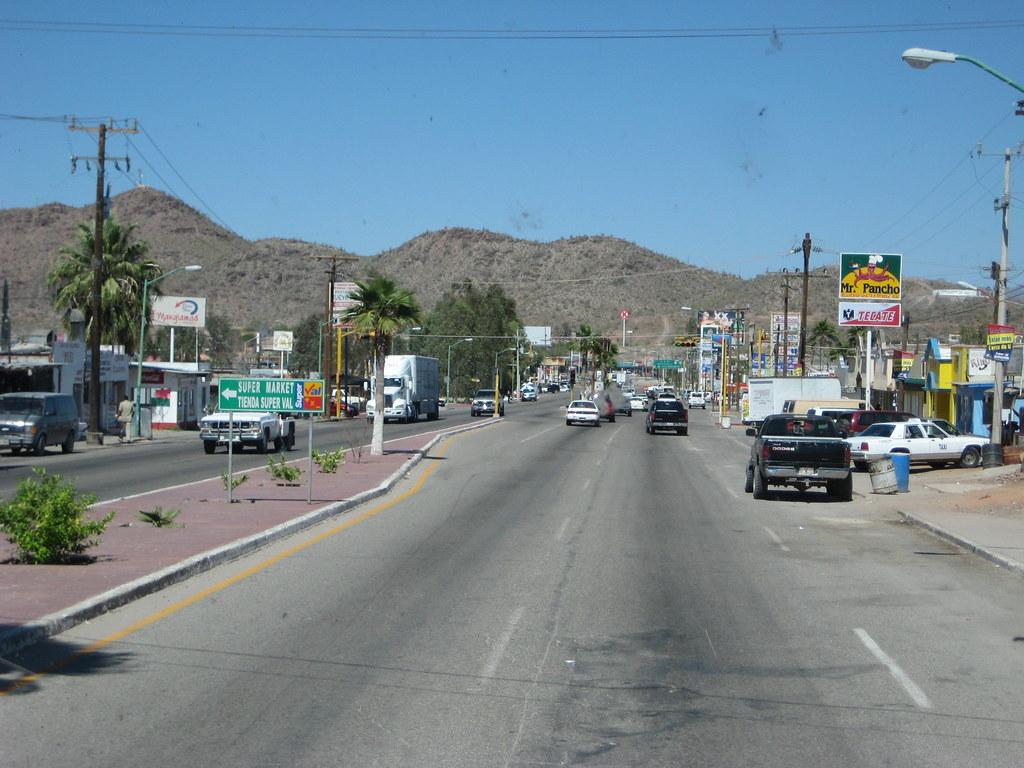 Hot Dog Estillo Hermosillo, in Sonoyta, Sonora, Mexico...