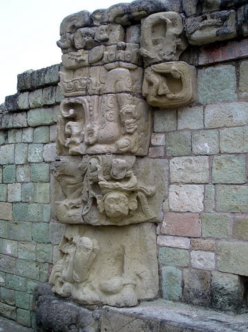 Mayan Ruins at Copán, Honduras - Detail - East Court Temple | by jrozwado