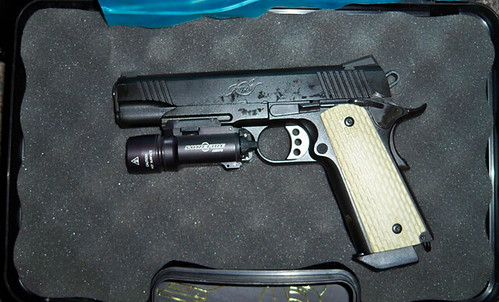Kimber 45 Cal Just Got This And Itching To Go Out To