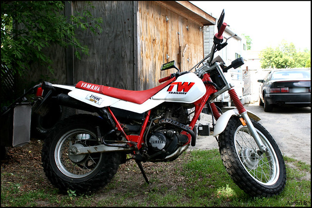yamaha trailway 200 | the new toy. 1987 yamaha tw200 have ab… | Flickr