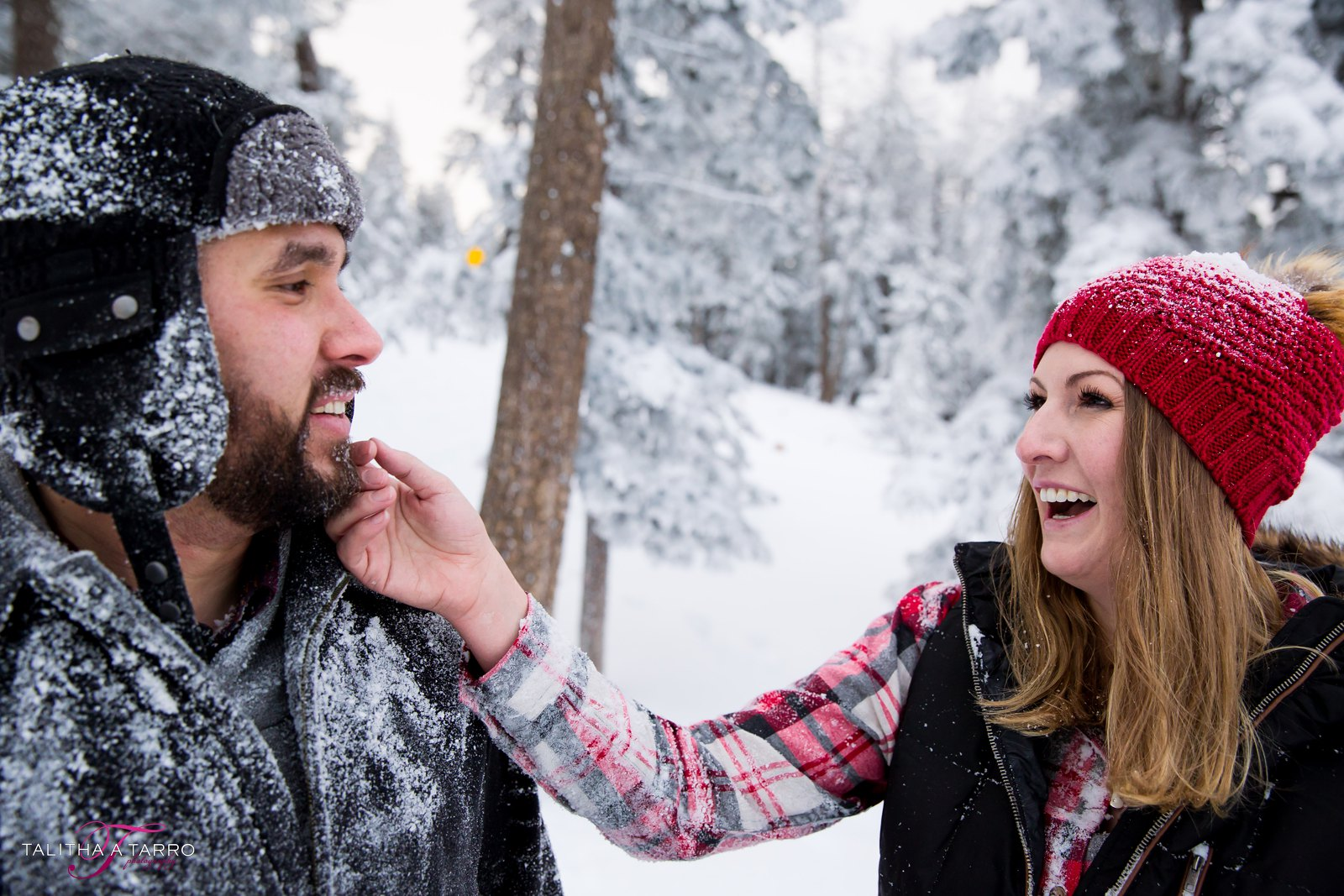 Winter Engagement Session Sandia