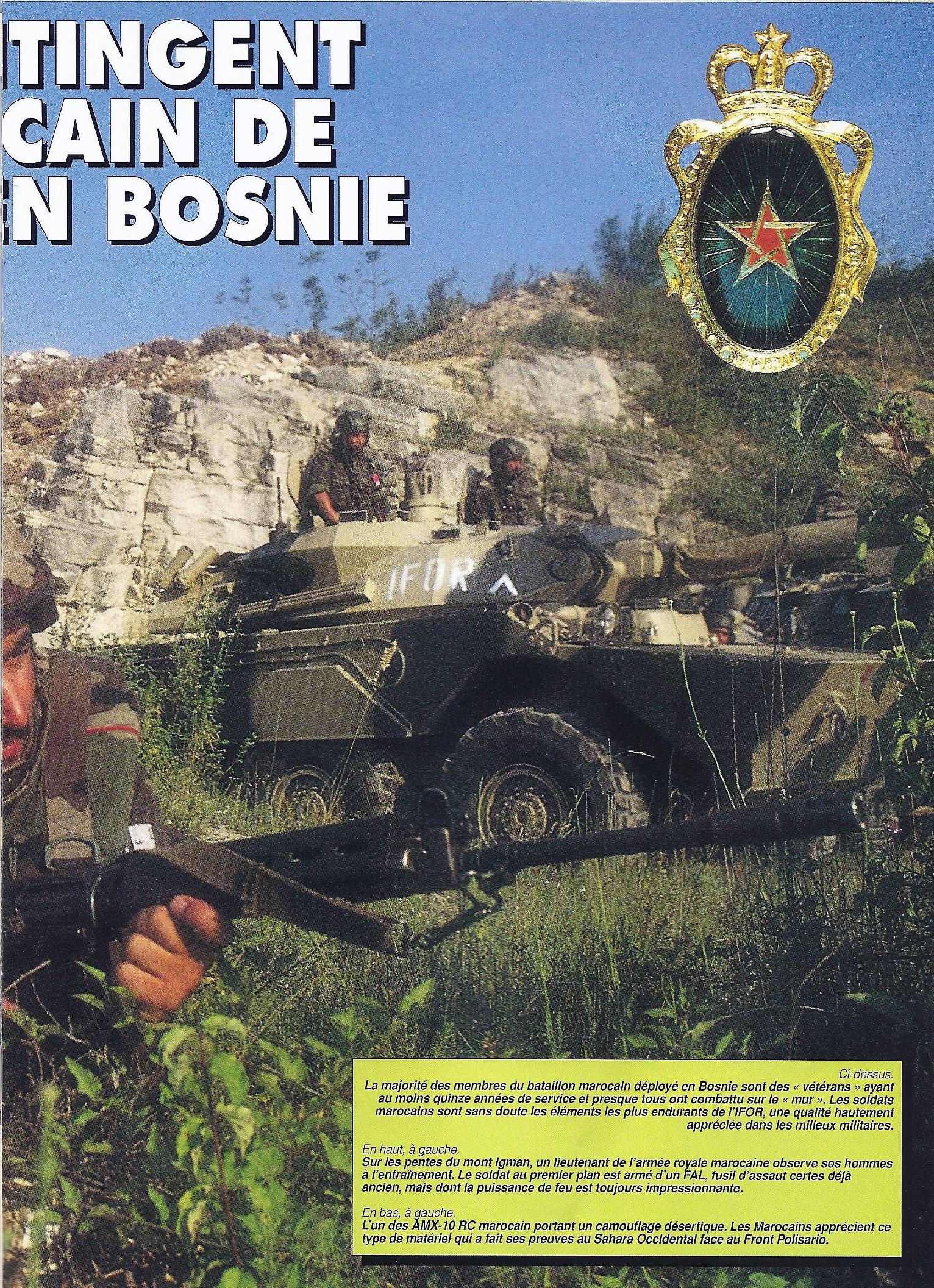 Les F.A.R. en Bosnie  IFOR, SFOR et EUFOR Althea 32784745272_abf5076260_o