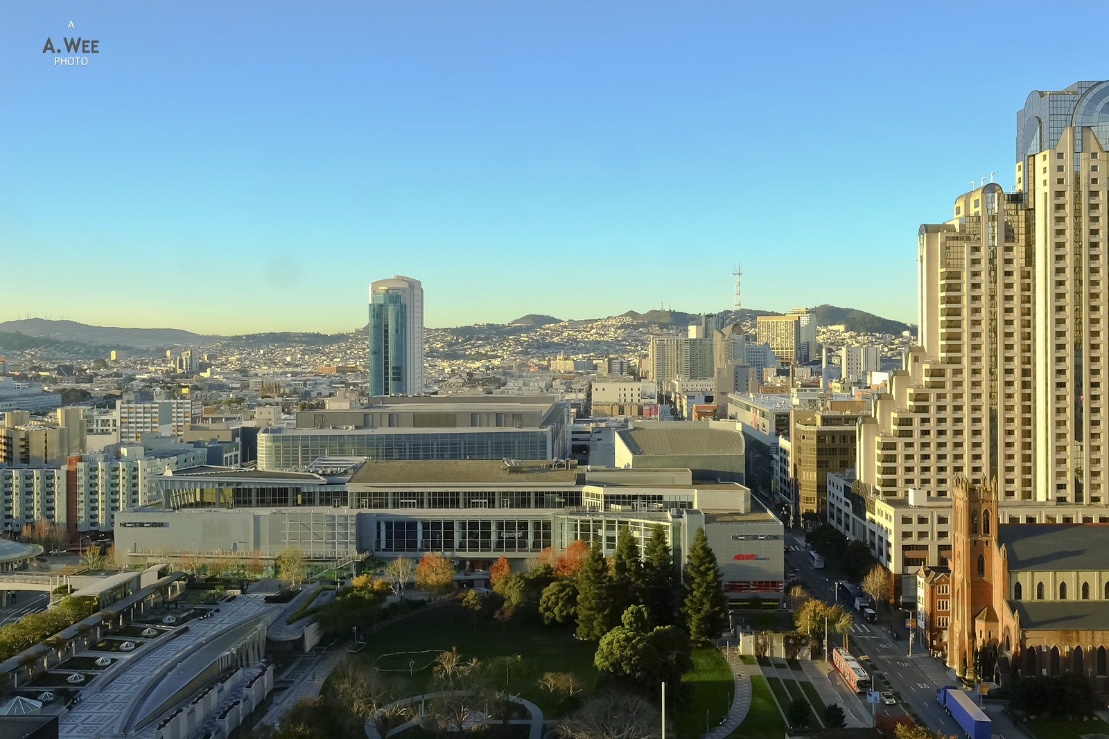 View out to Yerba Buena