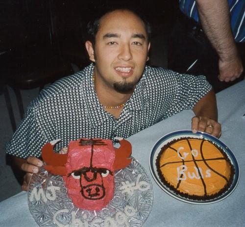 Chicago Bulls Cake Pops