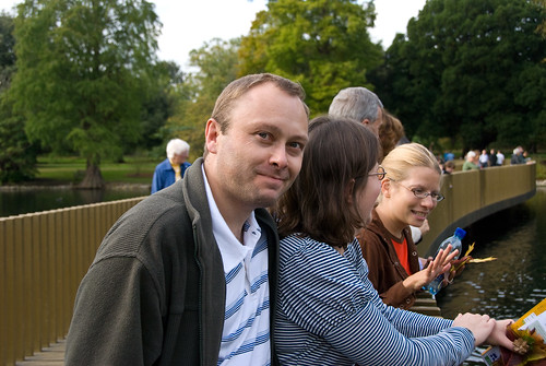 Simon, Ruth and Deb at Kew | by denovich