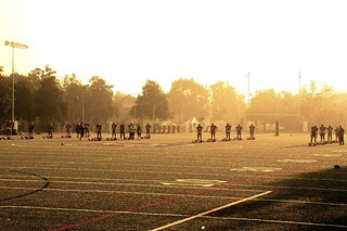Football Practice, San Juan Capistrano, CA | by DClemm