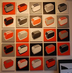 Toaster Canvas_in 24 different Colour combinations_1 x Canvas £250 or 24 x Canvas £4000 | by OPENSTUDIOSPACE