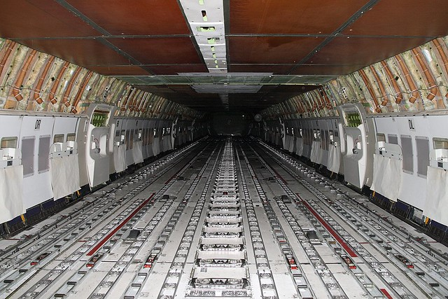 747 cargo interior d j b flickr for Interieur 747 cargo