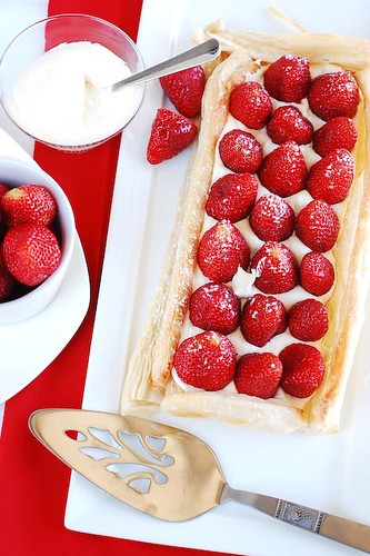 Strawberry and mascarpone tart (2/2) | by Souvlaki For The Soul