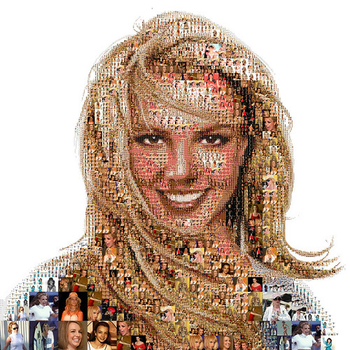 Britney Spears: A life mosaic | by tsevis