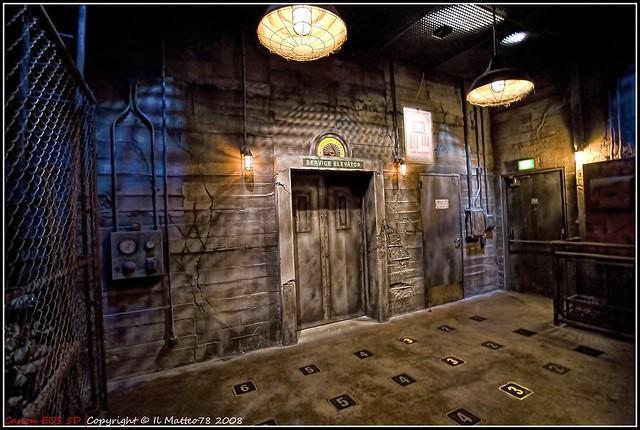 Disneyland Paris - Inside the Tower of Terror LucisArt ... Hollywood Tower Of Terror Inside