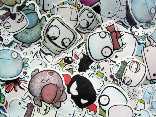 stickers!! | by clori