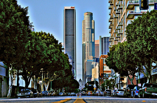 High Rise Building Down Town Los Angeles Ca Hi Guys When
