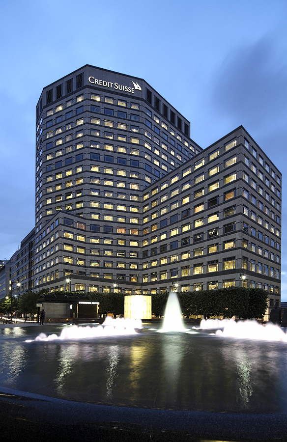 Get Free Credit Report >> Credit Suisse - Canary Wharf | David Bank | Flickr