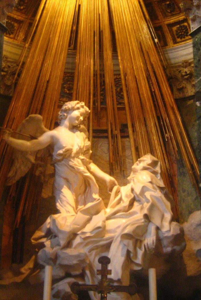 Santa Maria della Vittoria - Bernini's 'Ecstasy of St Tere…  Flickr