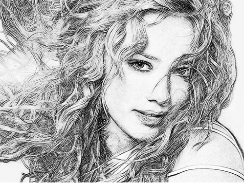 Hillary Duff Sketched | VirtuaTravelR | Flickr