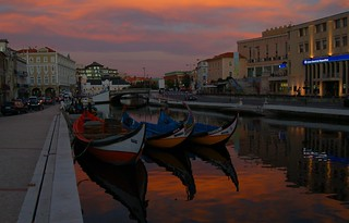 Sunset at Aveiro | by anacm.silva