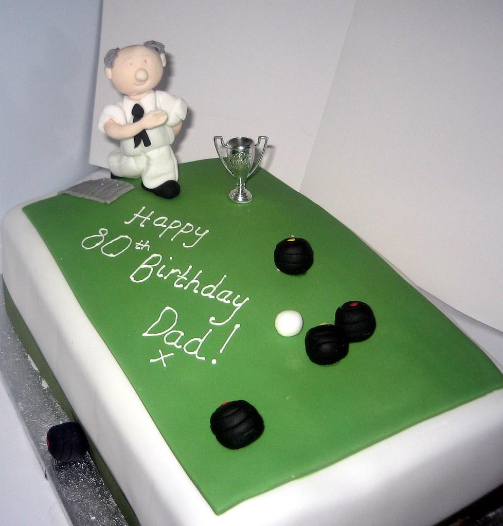 Bowling Green Birthday Cake