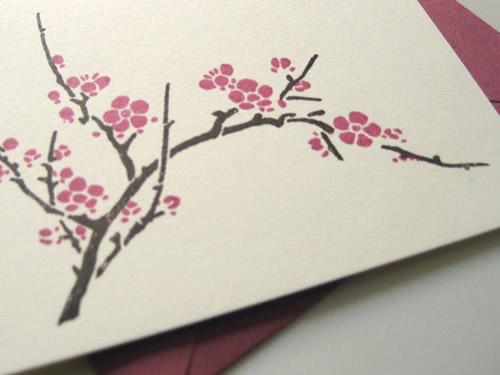 Cherry Blossom Invitations for amazing invitation sample