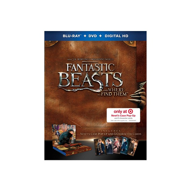 'Fantastic Beasts' Target exclusive Blu-ray