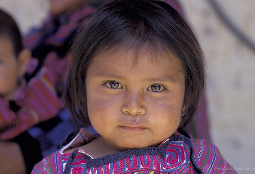 Portrait of little girl. Guatemala | by World Bank Photo Collection
