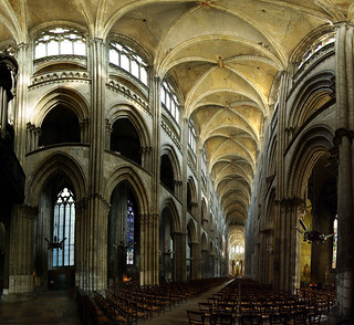 Rouen cathedral panorama, France | by Ekeynox