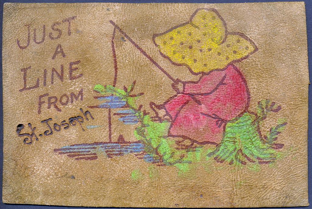 Berrian st joseph mi unusial genuine leather fishing them for St joseph michigan fishing report