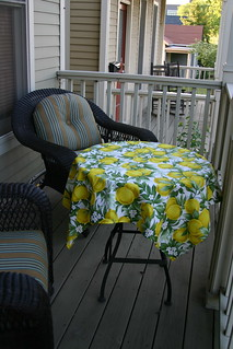 Tablecloth for the porch | by unertlkm