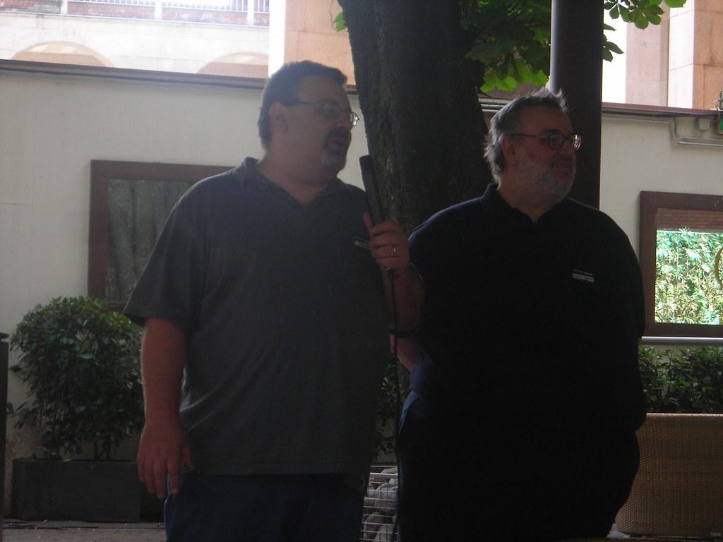 Paolo Valenti e Stefano Aglietti | Day 2 - iWordCamp 2008 ...