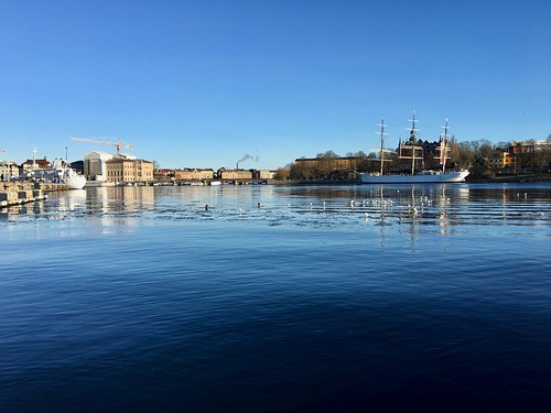 A beautiful winter morning in Stockholm