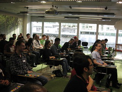 London WebGL crowd