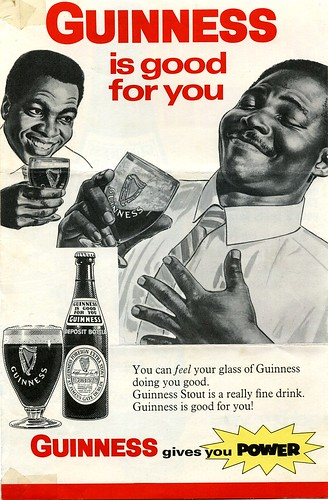 Part of a 1968 advertising sheet for Guinness after they established a brewery in Sierra Leone (West Africa) | by gbaku